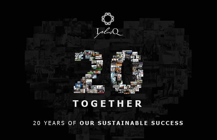 20 YEARS OF OUR SUSTAINABLE SUCCESS