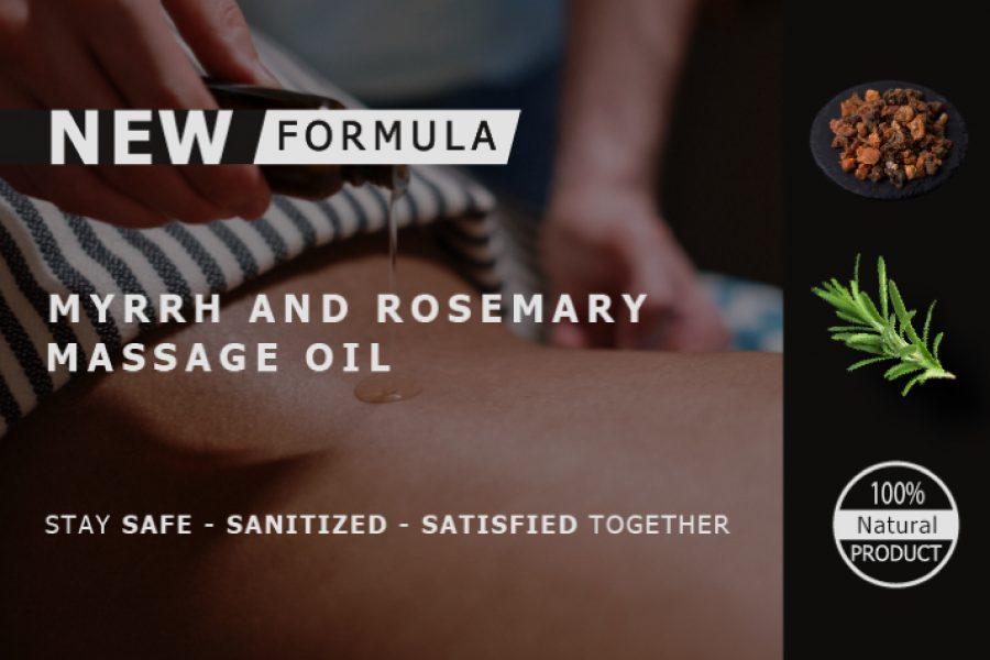 24/7 AROMATHERAPY SPA HYGIENE WELLNESS – Myrrh & Rosemary