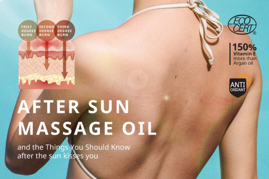 AFTER SUN MASSAGE OIL